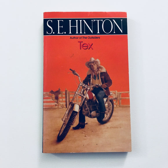 Paperback book: Tex by S.E. Hinton