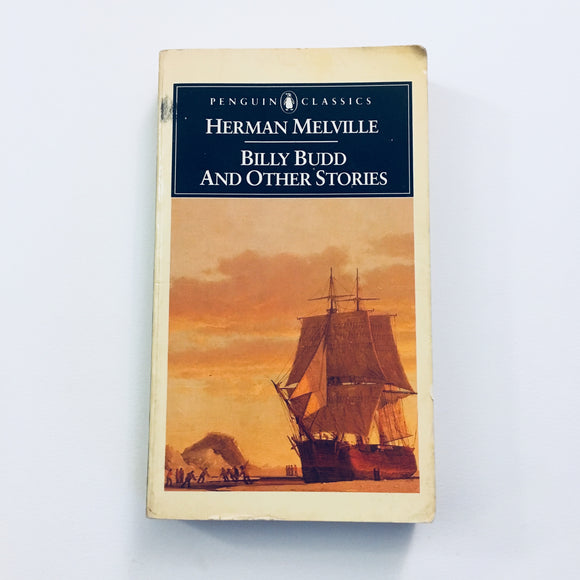 Paperback book: Billy Budd & Other Stories by Herman Melville