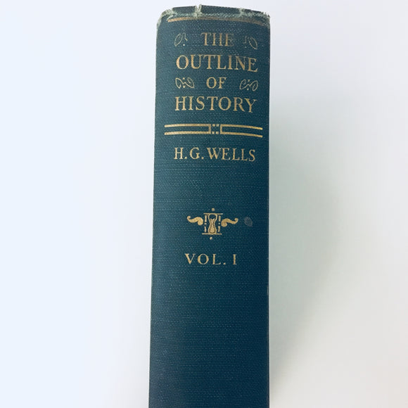 Vintage hardcover: The Outline of History by H.G. Wells