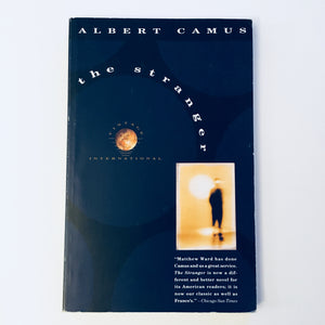 Paperback book: The Stranger by Albert Camus