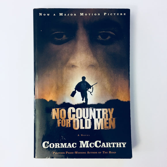 Paperback book: No Country For Old Men by Cormac McCarthy