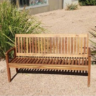 Outdoor Hardwood 3 Seater Kids Bench