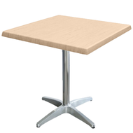 Square Cafe Table with Astoria Base