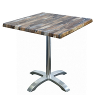 Square Cafe Table with Avila Base