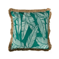 Chill Cushion Cover 60cm x 60cm with Jute Fringing
