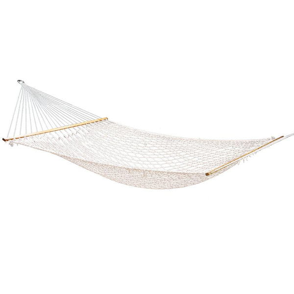 Double Swing Hammock Bed Cream