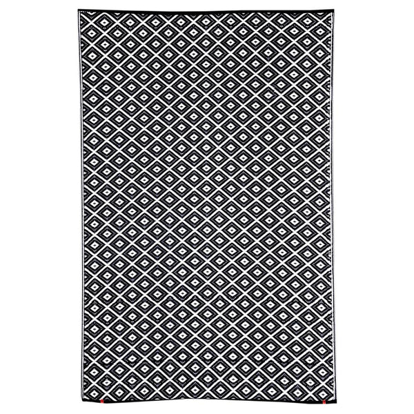 Kimberley Black Outdoor Rug