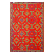 Lhasa Orange & Violet Outdoor Rug