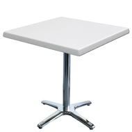 Square Cafe Table with Roma Base