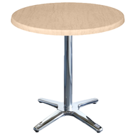 Circular Cafe Table with Roma Base