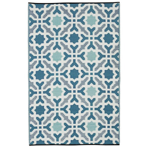 Seville Blue Outdoor Rug