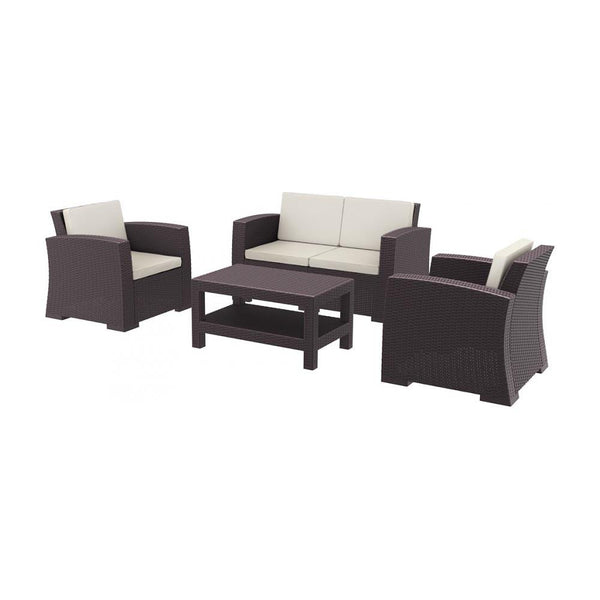Monaco Lounge Set (various colours) [product_type} - Outdoor Furniture and Fittings