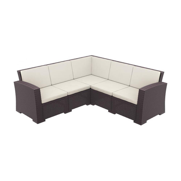 Monaco Lounge Corner Set (various colours) [product_type} - Outdoor Furniture and Fittings