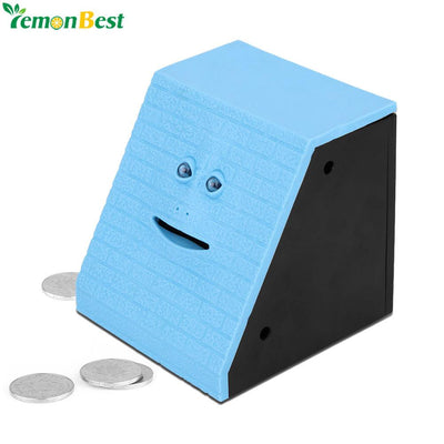 Brick Face Bank Automatic Money Saving Box