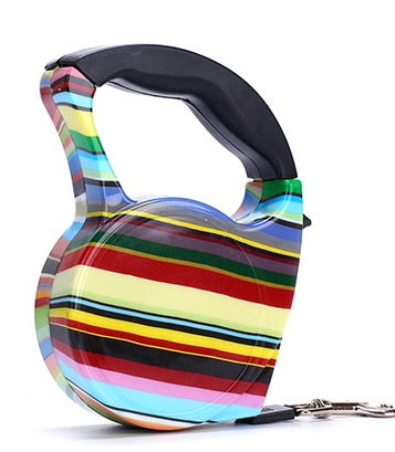 12 Color Dog Harness ABS Automatic Retractable Belt Line