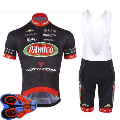 Jersey +Bib Shorts cycling jersey ropa ciclismo hombre