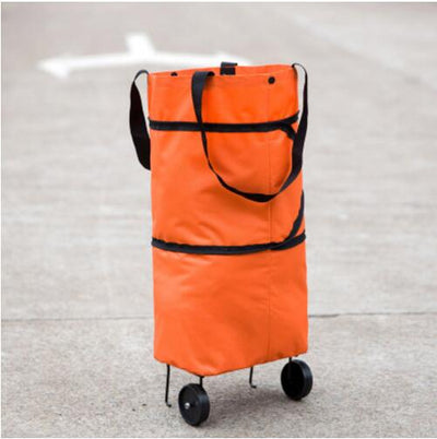 Reusable Shopping Bag With Wheels