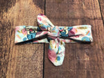 Top knot headband - Cottontail
