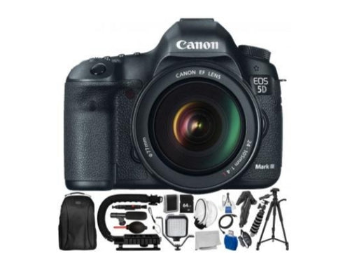 Canon EOS 5D Mark III DSLR Camera-(Bundle)