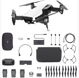 DJI Mavic Air RTF Kit - Fly More Combo Set - Arctic White