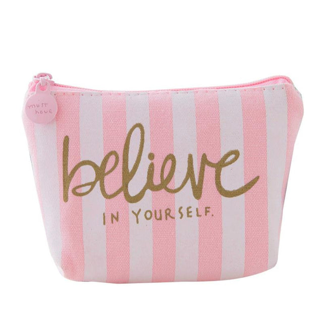 mini cartoon wallet Believe Yourself - Wallet Dealer