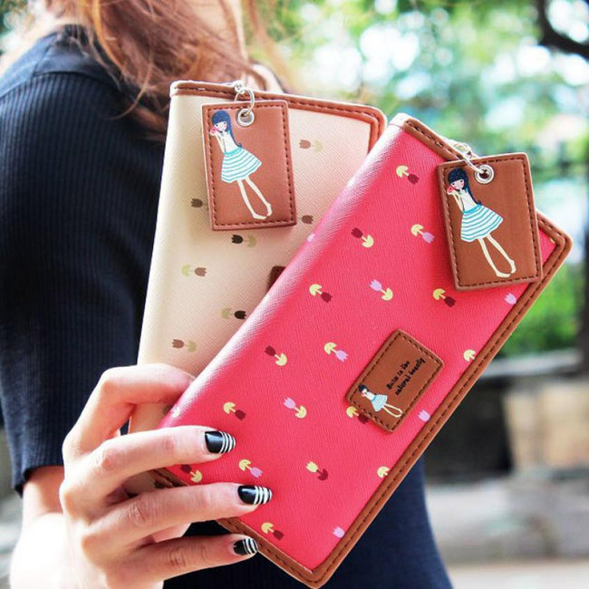 Women PU leather  Clutch - Wallet Dealer