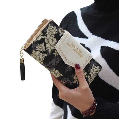 Ladies Clutch Wallet Card Holder Purse