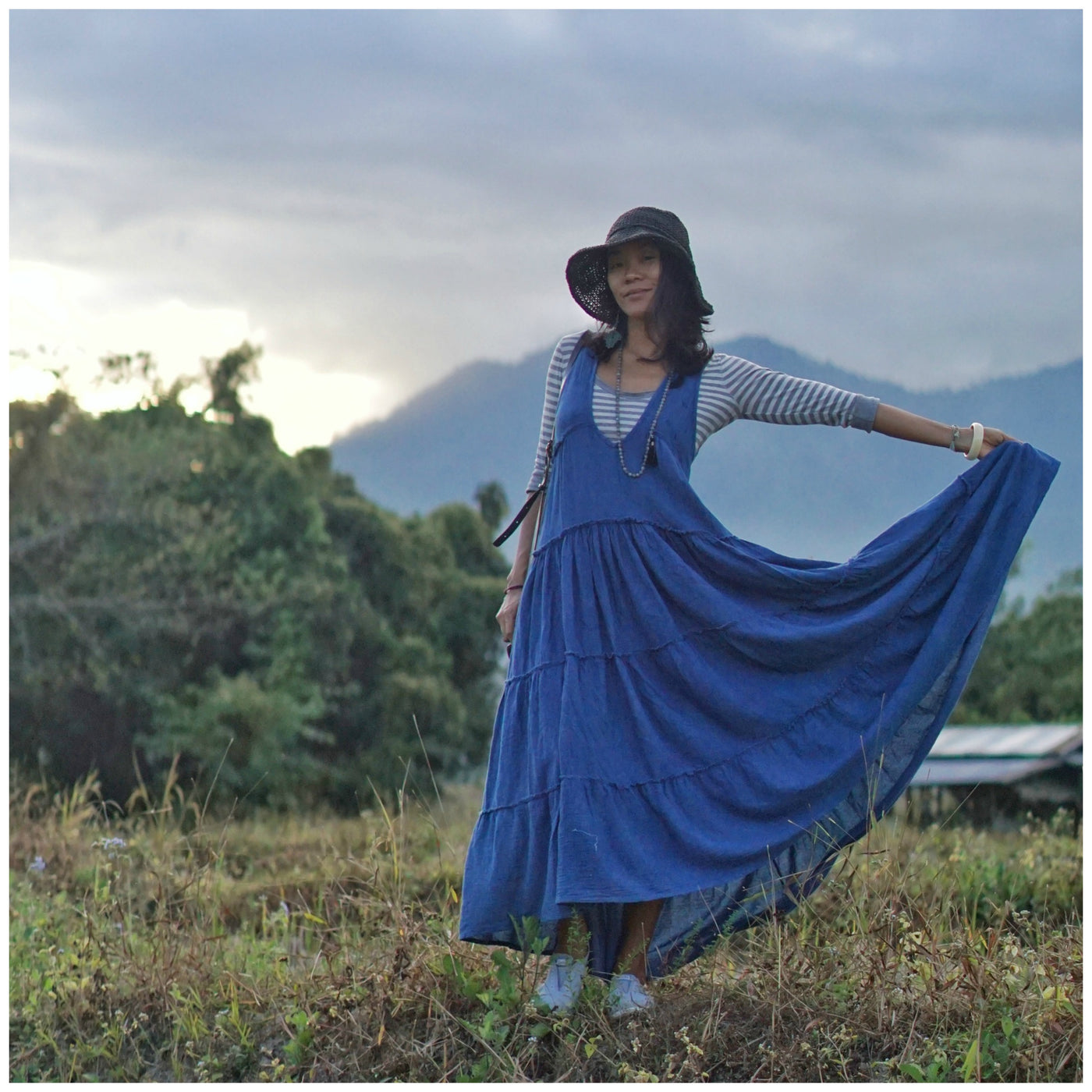 Anis...Indigo Dress