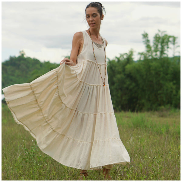 Bohemianweddingdressmaxilongbohodress