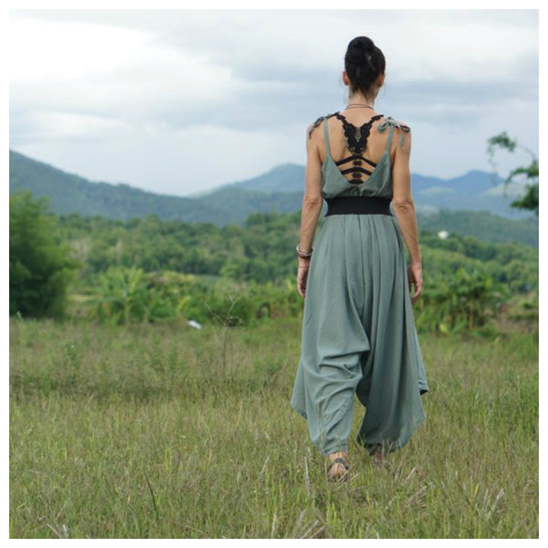 Colombine...Boho Jumpsuit