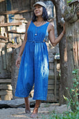 Sustainable Clothing, Sustainable Fashion, Blue Overall, Overall for Women, Linen Overall, Indigo Overall, Blue Indigo, Indigo Dye, Indigo