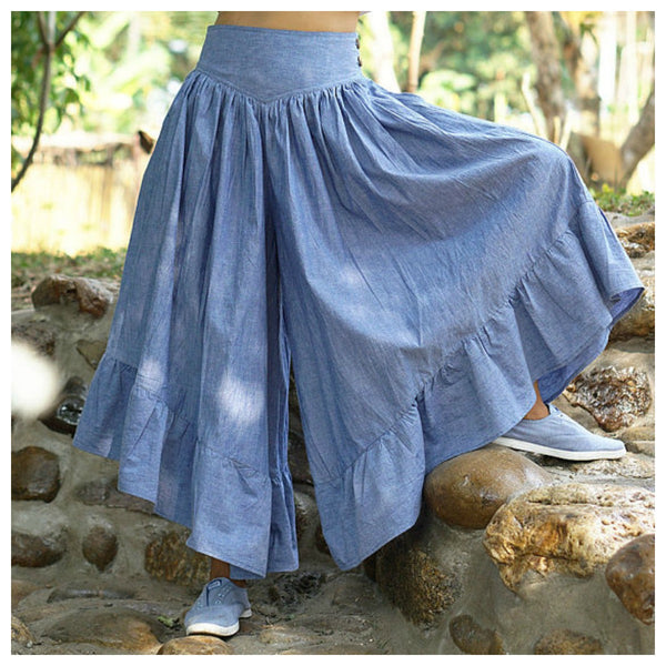 Buddleja...Chambray Skirt