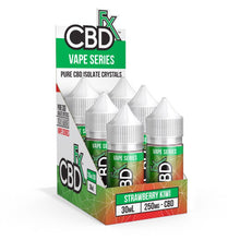 Strawberry Kiwi CBD Vape Juice by CBDfx - Cannabidiol (CBD)