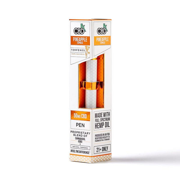 Organic CBD Pineapple Express CBD Terpenes Vape Pen 50 mg - Buy direct at wholesale price from the Factory Outlet CBDfx Terpenes Vape Pen