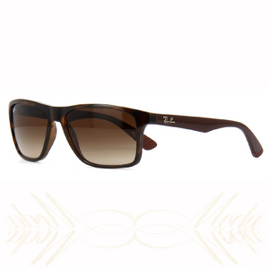 221ad92c625 Ray Ban RB4234 620513-58 Gradient Tortoise Brown 58mm Rectangle Sunglasses