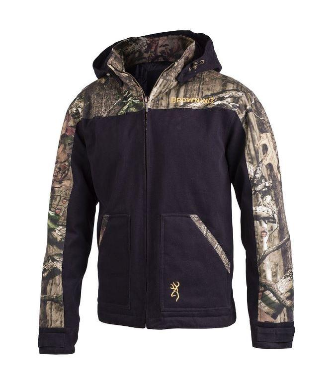 Browning Fillister Hood Jacket Blk/Mossy Oak - Extra Large - SKU: BFHJBXL - Size: XL, 100-200, Amazon, Apparel, browning, coats-jackets, ebay, size-xl