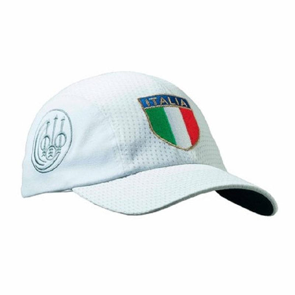 Uniform Pro Cap ITALIA White - SKU: BT16-2911-0530, Amazon, Apparel, beretta, ebay, headwear, Size-, under-50