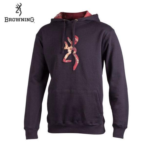 Browning Youth Buckmark Camo Hoodie Black L - SKU: BYBCHBL - Size: Large, Amazon, Apparel, browning, ebay, size-large, sweaters, under-50
