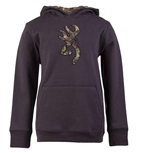 Browning Youth Buckmark Camo Hoodie Nine Irons L - SKU: BYBCHNIL - Size: Large, Amazon, Apparel, browning, ebay, size-large, sweaters, under-50