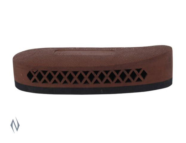 PACHMAYR DELUXE FIELD PAD BLACK BASE 00310 SMALL BROWN - SKU: F325BSBN, 50-100, ebay, pachmayr, recoil-protection, Shooting-Gear