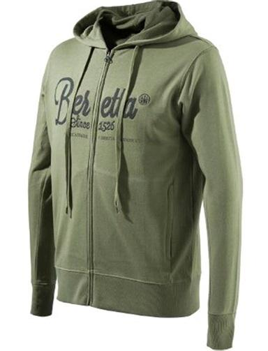 Corporate Hoodie Logo Green 3XL - SKU: FU022-T1098-078K/3XL - Size: 3XL, 100-200, Amazon, Apparel, beretta, ebay, size-3xl, sweaters