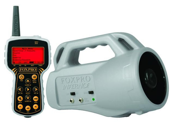 FOXPRO - INFERNO ELECTRONIC GAME CALLER - SKU: INF1, 200-500, Amazon, ebay, foxpro, game-calls, Hunting-Gear