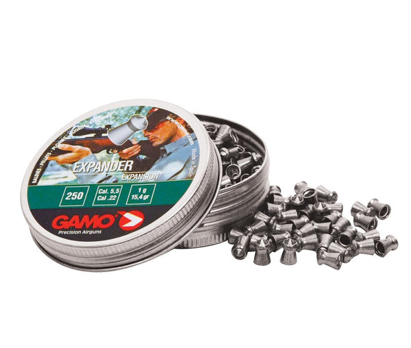 Gamo - Expander Pellets .22 (tin 250) - SKU: GEXPANDER22, air-gun-pellets, Ammunition, gamo, under-50