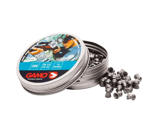 Gamo - Hunter Pellets .25 cal (tin 200) (Price/Packet) - SKU: GPHUN25, air-gun-pellets, Ammunition, gamo, under-50