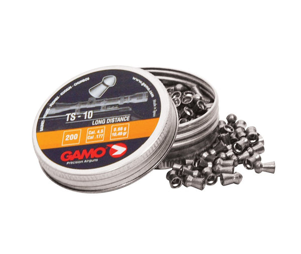 Gamo - TS-10 Long Range Pellets .177(QTY 200 Price / Packet) - SKU: GPTS10177, air-gun-pellets, Ammunition, gamo, under-50