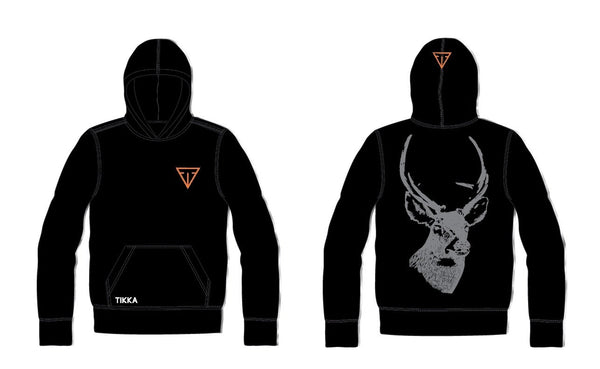TIKKA TROPHY HOODIE BLACK M - SKU: HOD01-TIKKA-0999/M - Size: Medium, 50-100, Amazon, Apparel, ebay, size-medium, sweaters, tikka