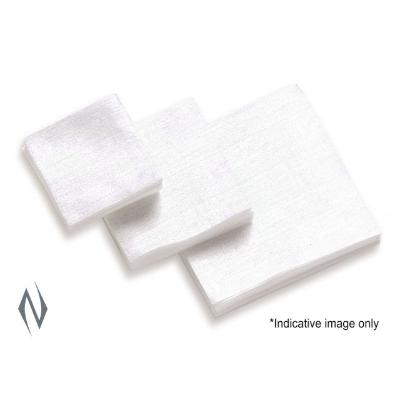 HOPPES COTTON PATCHES 38 - 45 CAL 40PK - SKU: HP1204, cotton-cleaning-patches, ebay, Gun-Cleaning, hoppes, Shooting-Gear, under-50