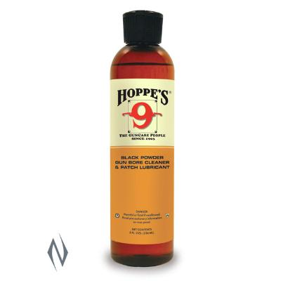 HOPPES NO 9 BLACK POWDER BORE SOLVENT & LUBRICANT 8OZ - SKU: HP999, ebay, Gun-Cleaning, hoppes, lubricants-protectants, Shooting-Gear, under-50