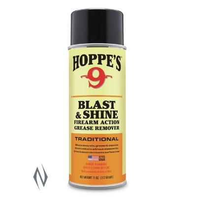 HOPPES NO 9 BLAST & SHINE CLEANER DEGREASER 11OZ - SKU: HPCD1, cleaners-degreasers, ebay, Gun-Cleaning, hoppes, Shooting-Gear, under-50