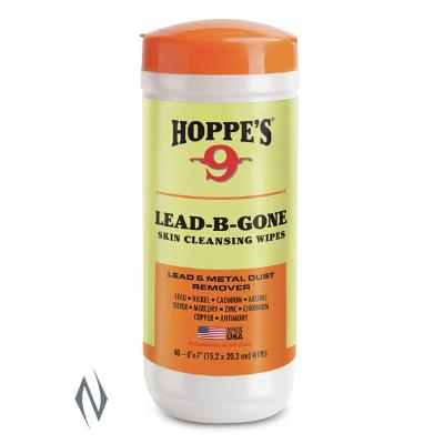 HOPPES LEAD B GONE HAND WIPES - SKU: HPLBG40, ebay, Gun-Cleaning, hoppes, other-cleaning-products, Shooting-Gear, under-50